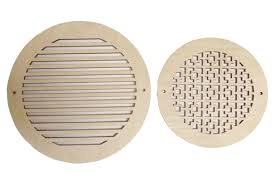 Round Ceiling Vent Covers by Round Return Air Grille Wood Vent Covers