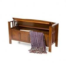 Solid Wood Entryway Storage Bench Interior Benches Foter
