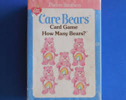 care bears card etsy