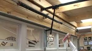 Overhead Door Maintenance by How To Lubricate Your Garage Door Correctly Youtube