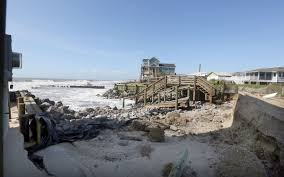 folly beach received severe erosion from irma multimedia