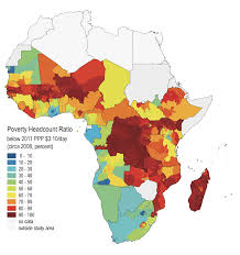 Africa South Of The Sahara Map by Cell5m A Geospatial Database Of Agricultural Indicators For