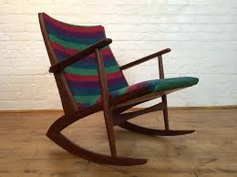 Rocking Chair Teak Wood Rocking Danish Teak Rocking Chair By Soren Georg Jensen 1950s For Sale At
