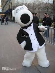 Family Guy Halloween Costumes Professional Brian Griffin Family Guy Mascot Costumes Short
