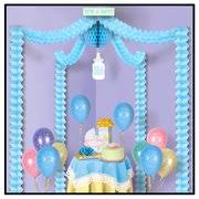 blue baby shower decorations peanut blue baby shower decorations and party supplies at
