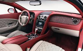 bentley white interior bentley now offering stone interior veneer u2013 news u2013 car and driver