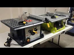 central machinery table saw fence harbor freight table saw vs ryobi portable table saw youtube