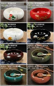Home Decor Auction Ceramic Ashtray Creative Fashion Vintage Home Decor Chinese