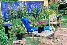 blue wall with garden patio denver mann 023 tif charles mann