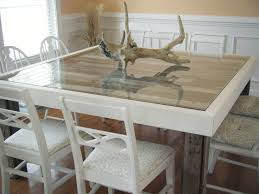 Coastal Dining Room Sets The Best Of Our Beachy Dining Room Table We Built With Pallets On