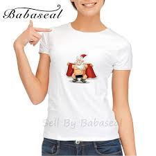 funny black friday t shirts aliexpress com buy babaseal print letter funny crazy fat santa t