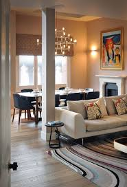 sofa dining table rug art lighting st pancras penthouse