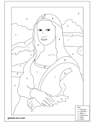 mona lisa coloring page download coloring pages mona lisa coloring