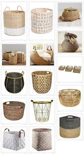Pretty Laundry Hampers by 163 Best Basket Obsession Images On Pinterest Basket Laundry