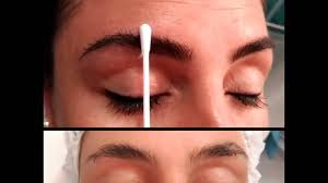 microblading and permanent eyeliner before and after youtube