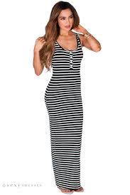 summer maxi dresses quincy black and ivory white casual striped summer maxi dress