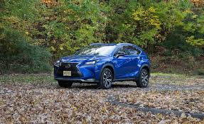 lexus mid size crossover 2017 lexus nx in depth model review car and driver