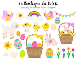 Easter Decorations Clipart by Easter Clipart Cute Graphics Png Spring Animals Clip Art Egg
