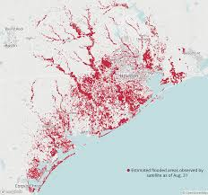 Austin Flooding Map by Texas Officials See Long Road From Harvey For State Transportation