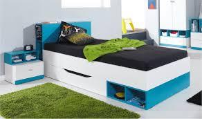 gautier chambre ado lit en bois à tiroir et rangements pour chambre ado enfant