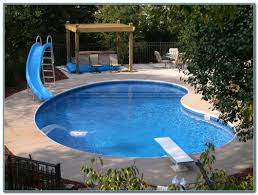inground pools for small yards pools home decorating ideas
