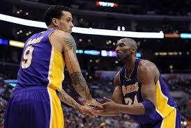 Barnes Los Angeles Matt Barnes And Kobe Bryant Photos Photos Los Angeles Lakers V