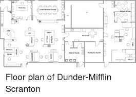 dunder mifflin floor plan michael pam angela kevin 8 jim conference room o andy kitchen