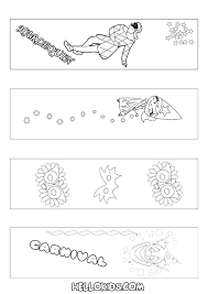carnival 2 free printable u0026 cutting crafts for kids