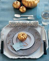 Black Blue And Silver Table Settings 40 Thanksgiving Table Settings To Wow Your Guests