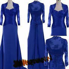 blue colour mother of the bride dress suit clothing ebay