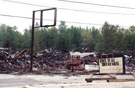 car junkyard michigan fire destroys salvage business news sports jobs daily press