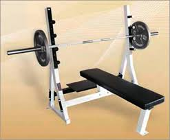 weight and bench set yukon commercial flat olympic weight bench