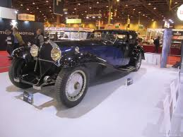 bugatti royale 40th edition of retromobile exposition in paris auto archives