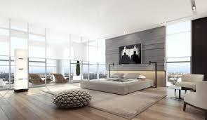 style chambre à coucher design interieur style moderne chambre coucher grande