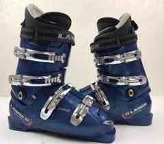 womens size 9 in ski boots lange banshee 80 downhill blue ski boots s size 9 ebay