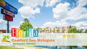 Orlando Florida Comfort Inn Comfort Inn Maingate Orlando Hotels Florida Youtube
