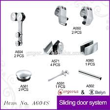 sliding door floor guide shower screen roller wheels buy shower