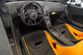 orange mclaren rear white black orange mclaren 675lt for sale