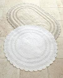 Floral Bathroom Rugs Floral Bath Rugs Crochet Border Rug Borders And U2013 Buildmuscle