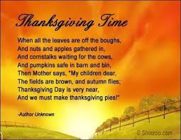 the meaning of thanksgiving poem festival collections