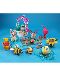 Easter Egg Decorations Craft Kit by Wikki Stix Easter Egg Decorating Kit Award Winning Kids Crafts
