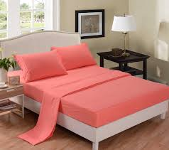 Bed Sheet Sets Total Fab Coral Colored Comforter And Bedding Sets
