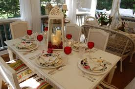 Valentines Day Tablescapes Romantic Candlelight Table Setting