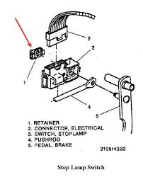 brake switch retainer clip 95 k1500 burb the 1947 present