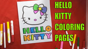 hello kitty coloring pages coloring book fun printable color page