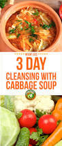 3 day cleansing diet with cabbage soup easy and efficient