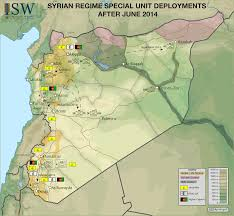 Syria On A Map by Isw Blog May 2015