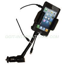 porta iphone 5 auto porta celular con cargador de auto para iphone 5 hr 026