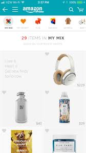 interesting finds amazon amazon launches my mix a personalized shop filled with your