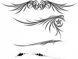 wings and ornament vector free